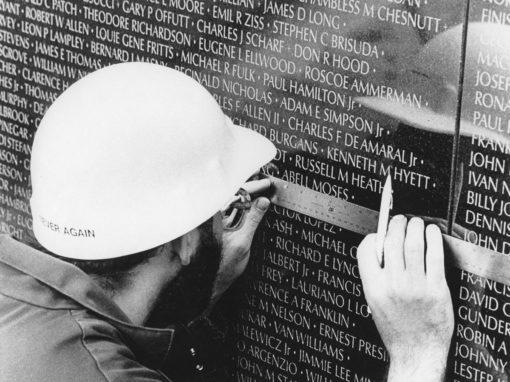 Vietnam War Memorial.